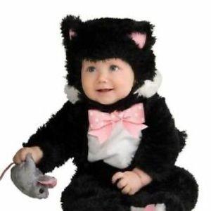 Black Kitty infant Costume